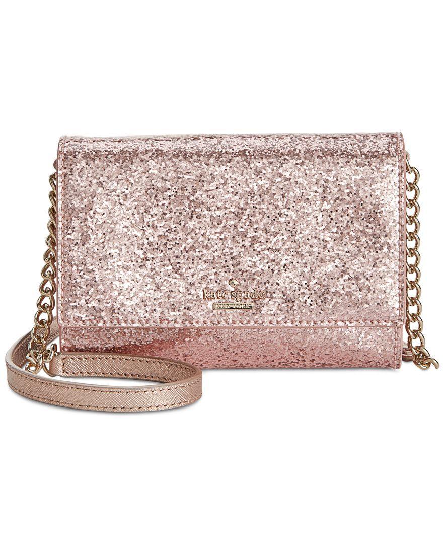 9c7c8e4cb kate spade new york Glitter Bug Cami Crossbody - kate spade new york -  Handbags & Accessories - Macy's