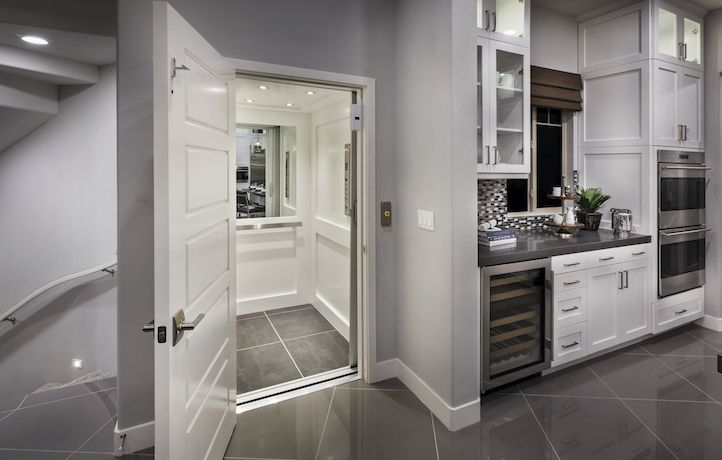 would you put this built in elevator to good use it s included rh pinterest com