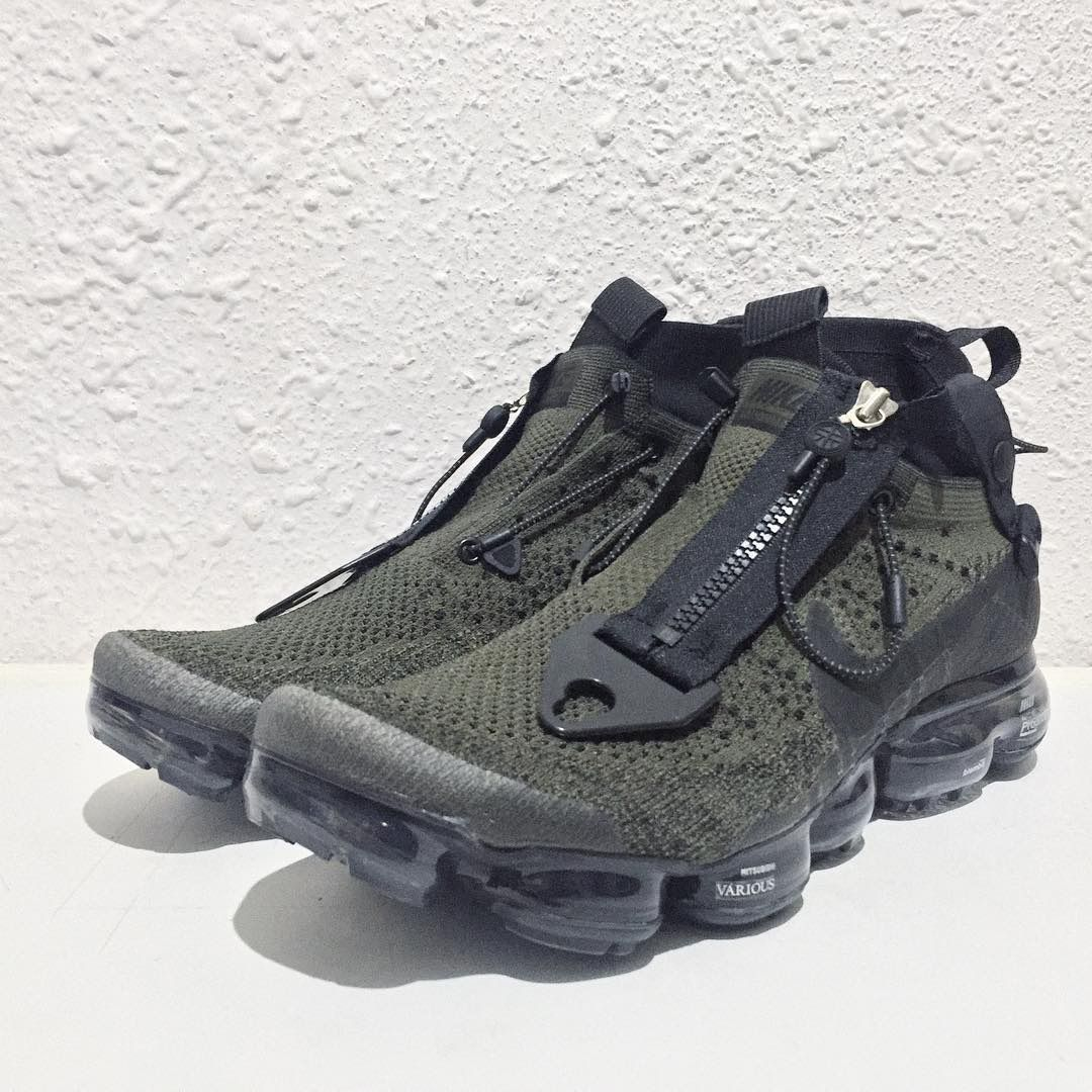 new style 90eed 2a268 Acronym Style Custom Nike Air VaporMax - EU Kicks  Sneaker Magazine