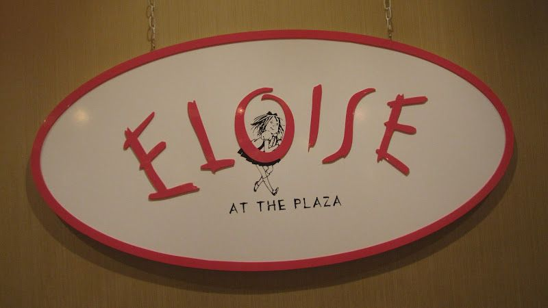 eloise at the plaza hotel , a cute little store for all of us