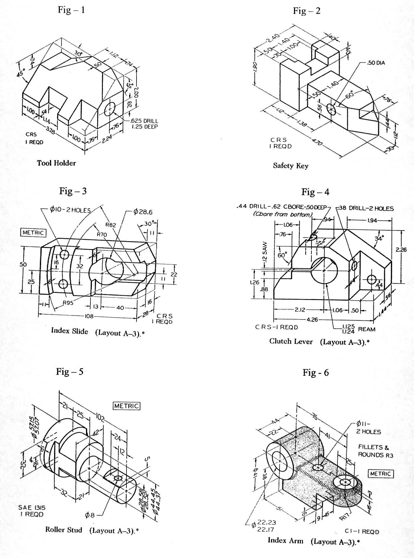 Dwg 1 Jpg 1401 1888 3d Cizimler Makine Muhendisligi Resimler