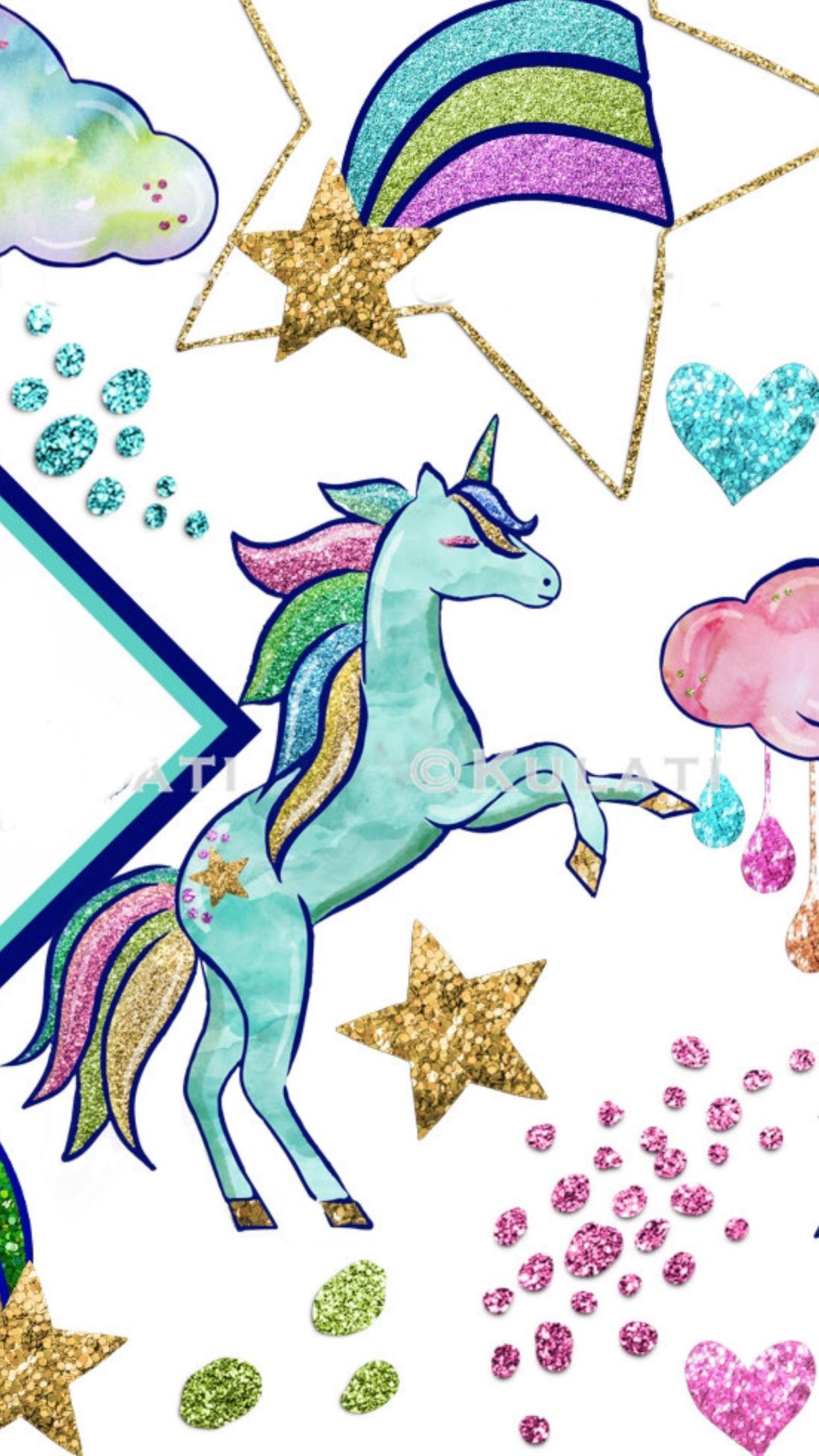 Unocornio Unicorn Wallpaper Wallpaper Kawaii Unicorn