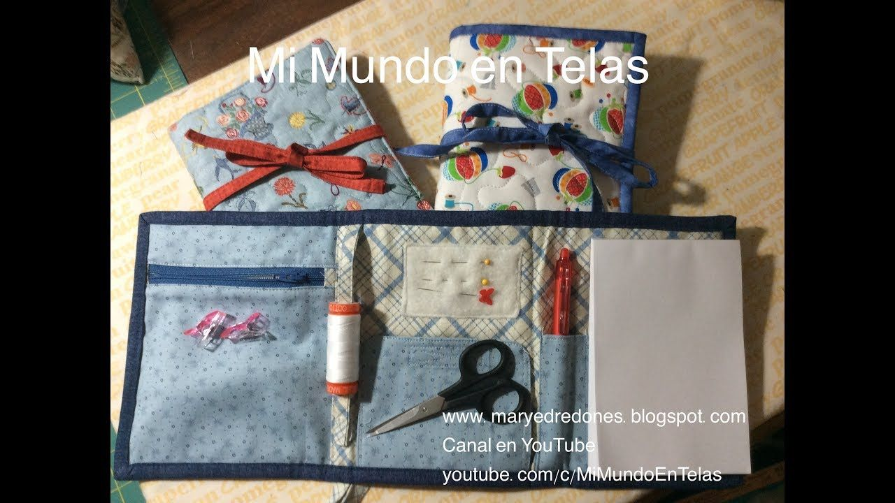650258a65 DIY-HTM- Costurero Portable Accesorios De Costura, Bolsos De Tela,  Tarjetero,
