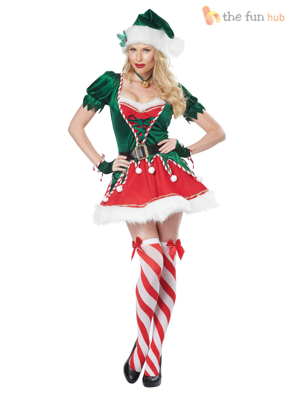 Wonderful Christmas Party Fancy Dress Ideas Part - 14: Christmas+elf+costume+Women | Christmas Fancy Dress U003e Ladies Christmas  Costumes U003e Gingerbread Woman ... | Costumes | Pinterest | Christmas Elf  Costume, ...