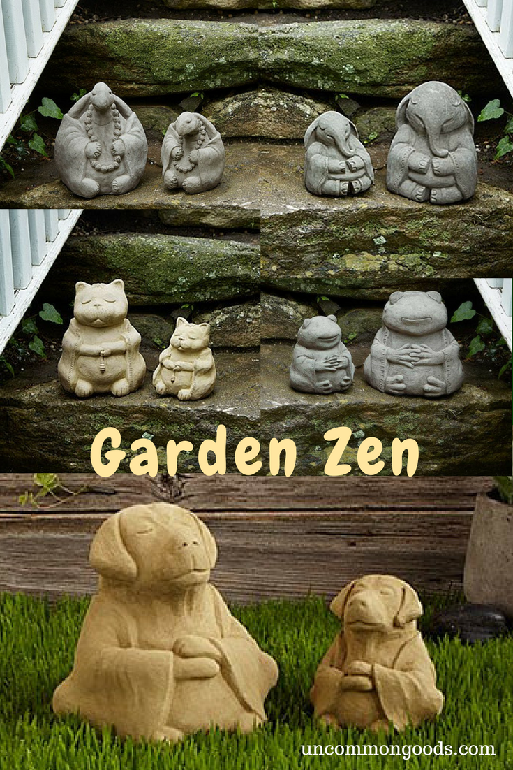 These meditative cement sculptures bring peace, humor, and the art ...