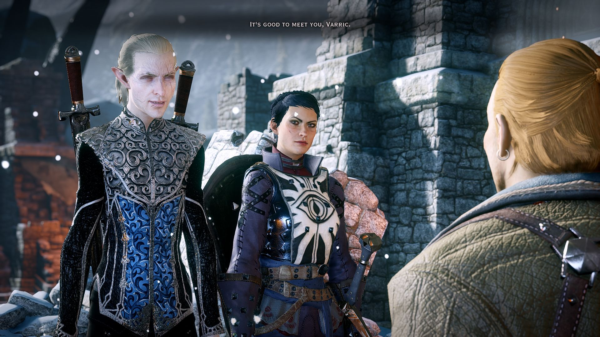 ELEs Female Elf Jammy Retexture at Dragon Age: Inquisition