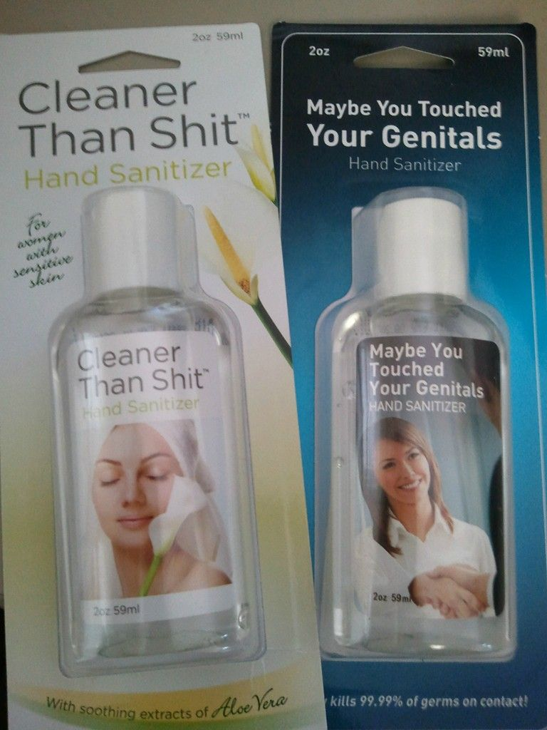Saw These Hand Sanitizers On My Hr Director S Desk This Morning