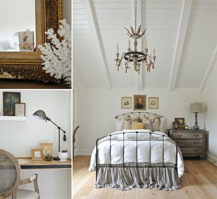landhausstil schlafzimmer stilvoller und gemütlicher schlafbereich