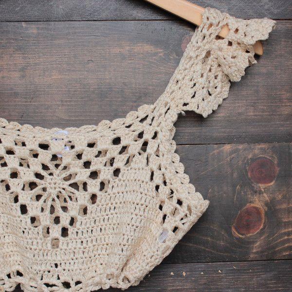 next morning crochet bralette - natural – shophearts   DIY ...