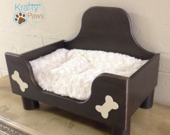 wood dog bed furniture. Handmade Dog Bed Pet Wooden Cat By KraftyPawss Wood Furniture