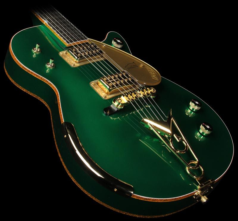 gretsch custom shop masterbuilt penguin electric guitar cadillac green stuff i can 39 t afford in. Black Bedroom Furniture Sets. Home Design Ideas