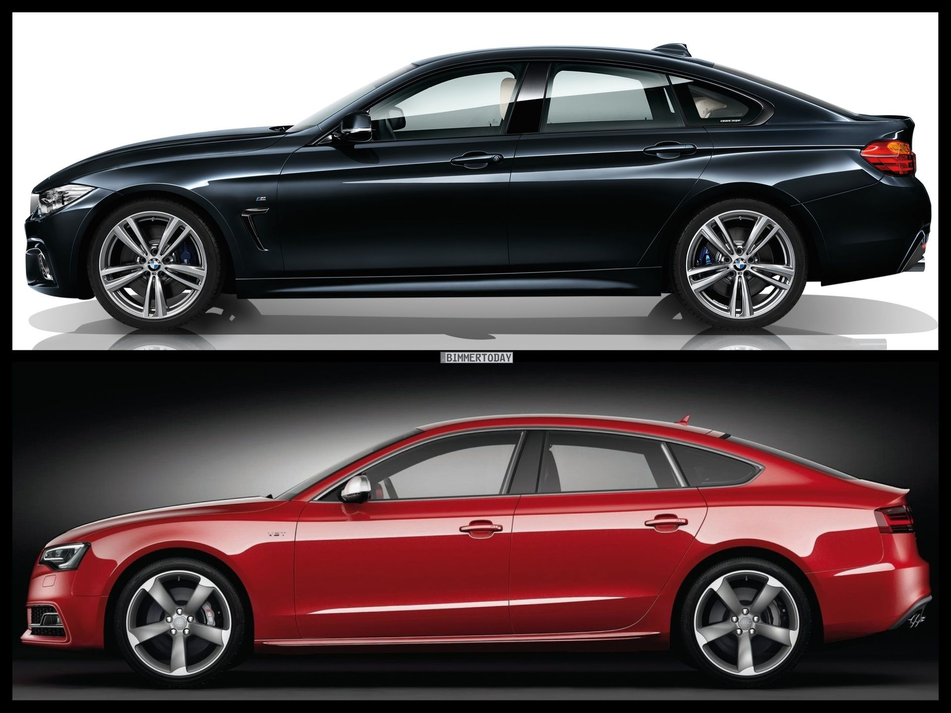 BMW 4 Series Gran Coupe vs Audi A5 Sportback  Drive Comparison