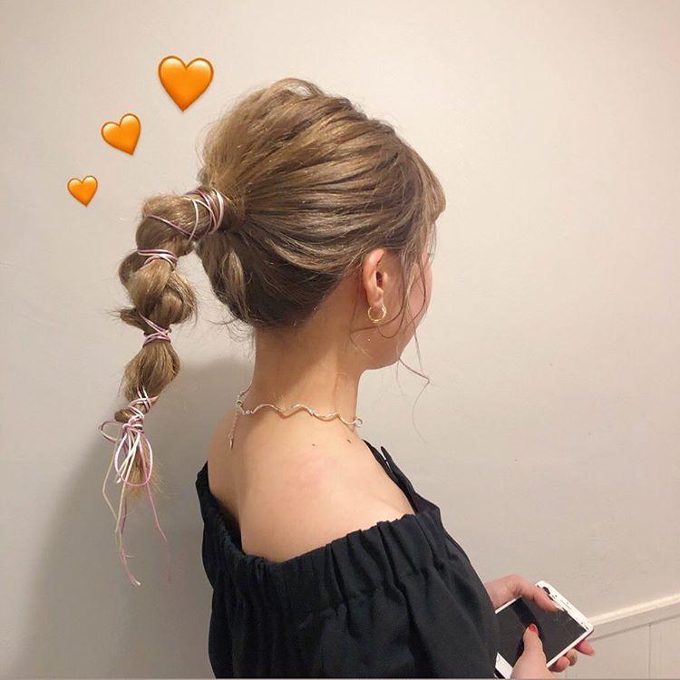 みゆさんはinstagramを利用しています Hair Arrange