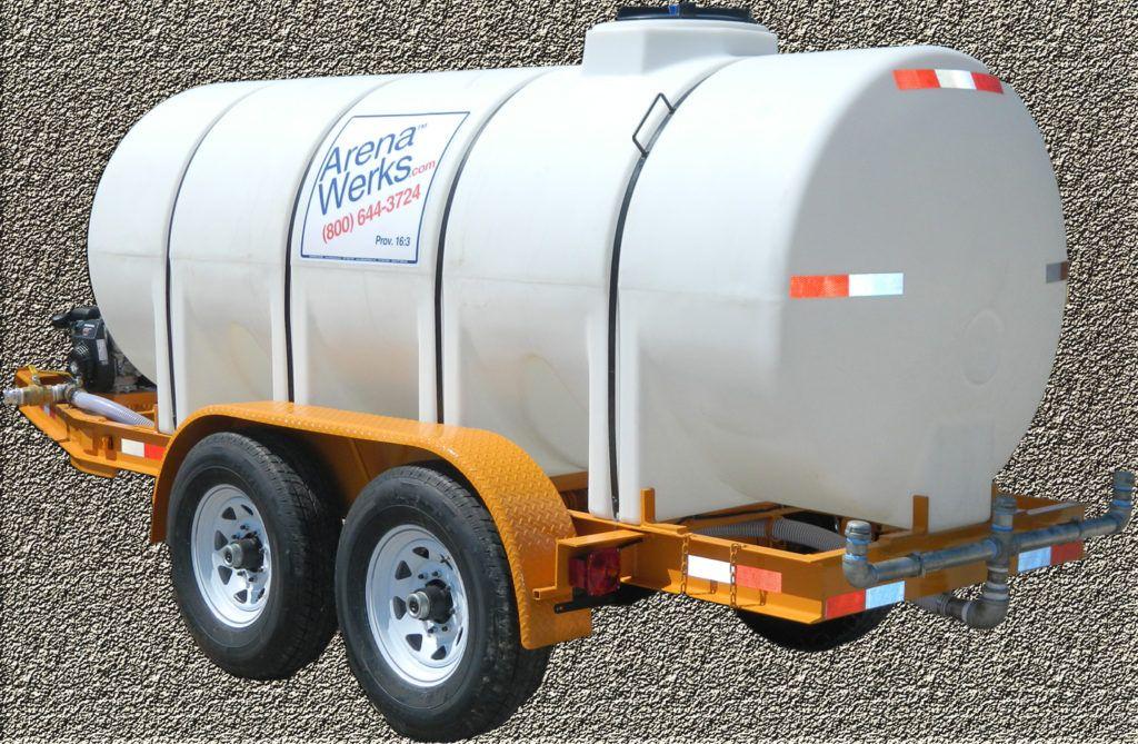 1 025 Gallon Water Trailers Arena Drag Snodgress Equipment Water Tank Truck Trailer Arena Drag