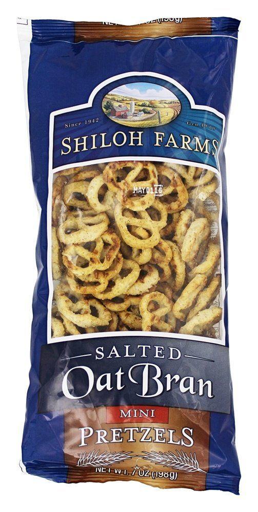 Oat Bran Mini Pretzels Salted – 7 oz.Shiloh Farms