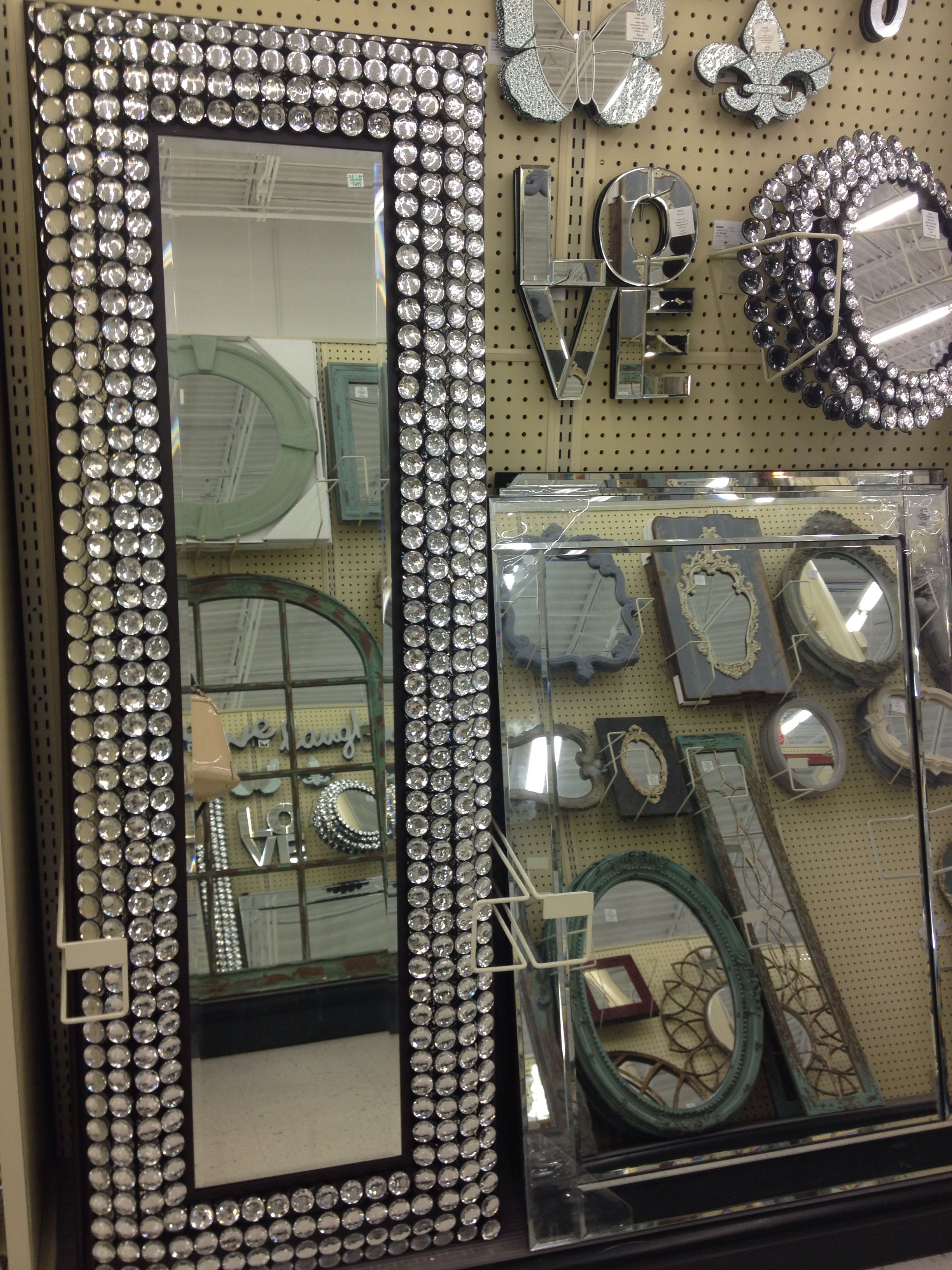 Obsessed With These Mirrors At Hobby Lobby Hobby Lobby Decor Bling Bedroom Hobby Lobby Furniture