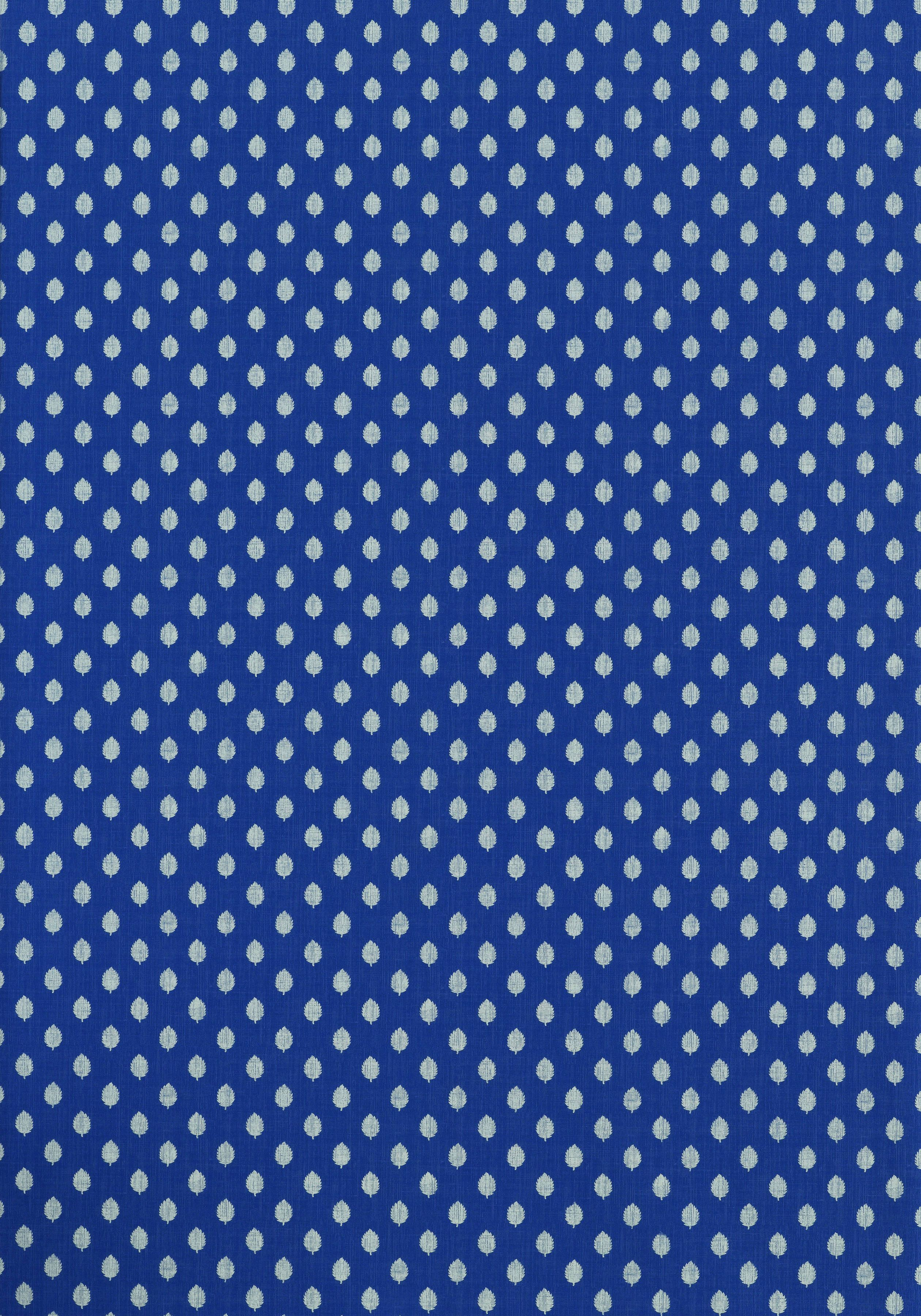 LITTLE LEAF, Blue, T9165, Collection Avalon from Thibaut
