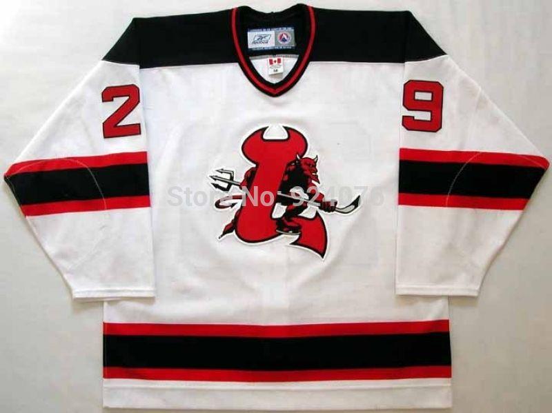 29e7480ddcd 2006 07 grant marshall jersey 29 lowell devils jerseys ice hockey jerseys  white