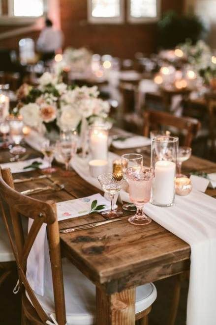 Facebook it |Farmhouse Table Wedding Reception