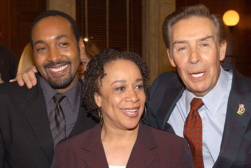 Vintage 2002, Jesse L. Martin, S.Epatha Merkerson and Jerry Orbach of Law and…