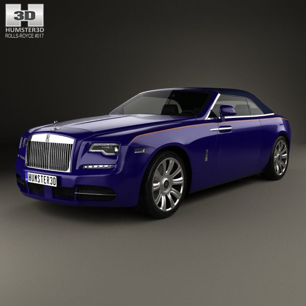 Rolls-Royce Dawn 2017 3d Model From Humster3D.com