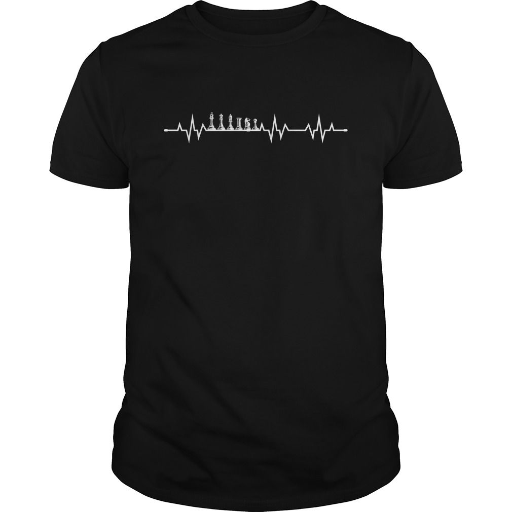 HEARTBEAT CHESS PEICES #novelty t-shirts #design and print t ...