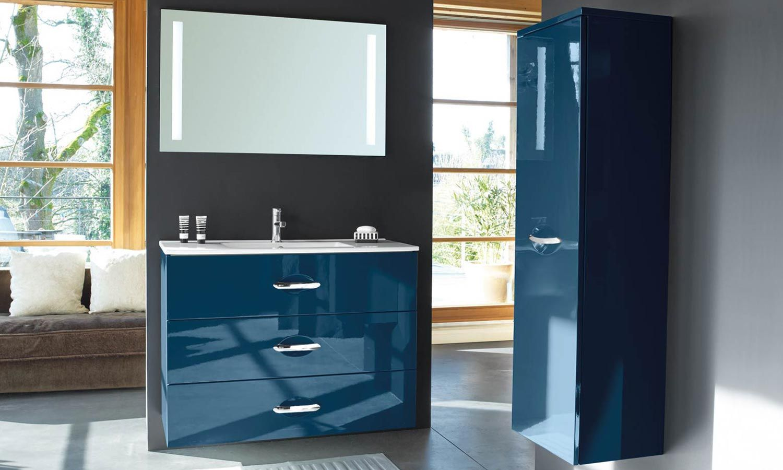 Meuble Salle De Bains Decotec Bento Vue D Ensemble Minimalist Bathroom Vintage Bathroom Bathroom Decor