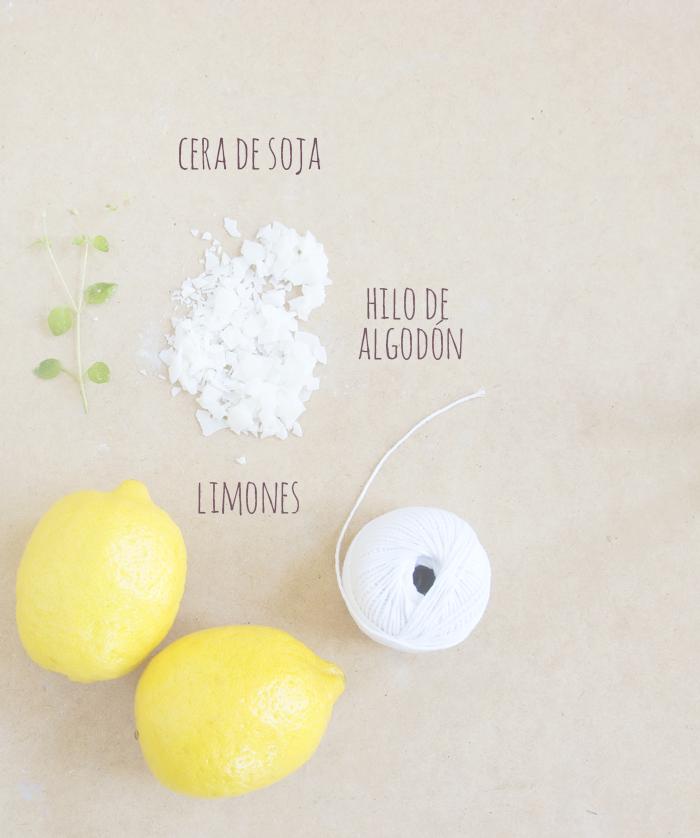 Velas con c scara de lim n antimosquitos diy hazlo t - Cascara de limon ...