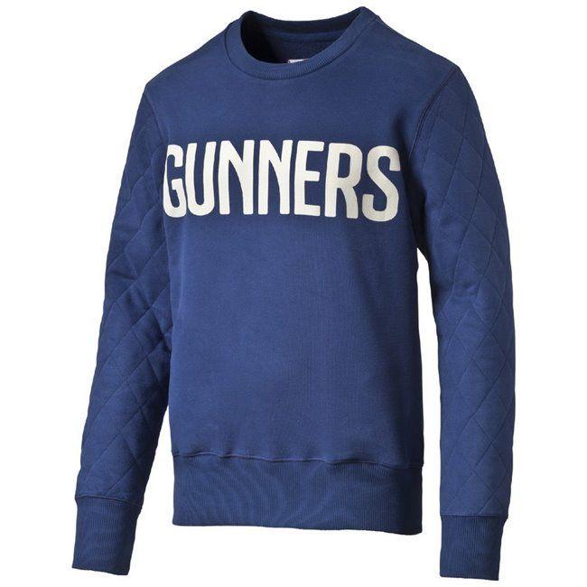 PUMA Arsenal FC Casual Crew Sweater pánská mikina  4fe0e9b3a92