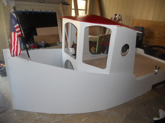 Children S Boat Bed Plans Boat Bed Bed Plans Build A Playhouse