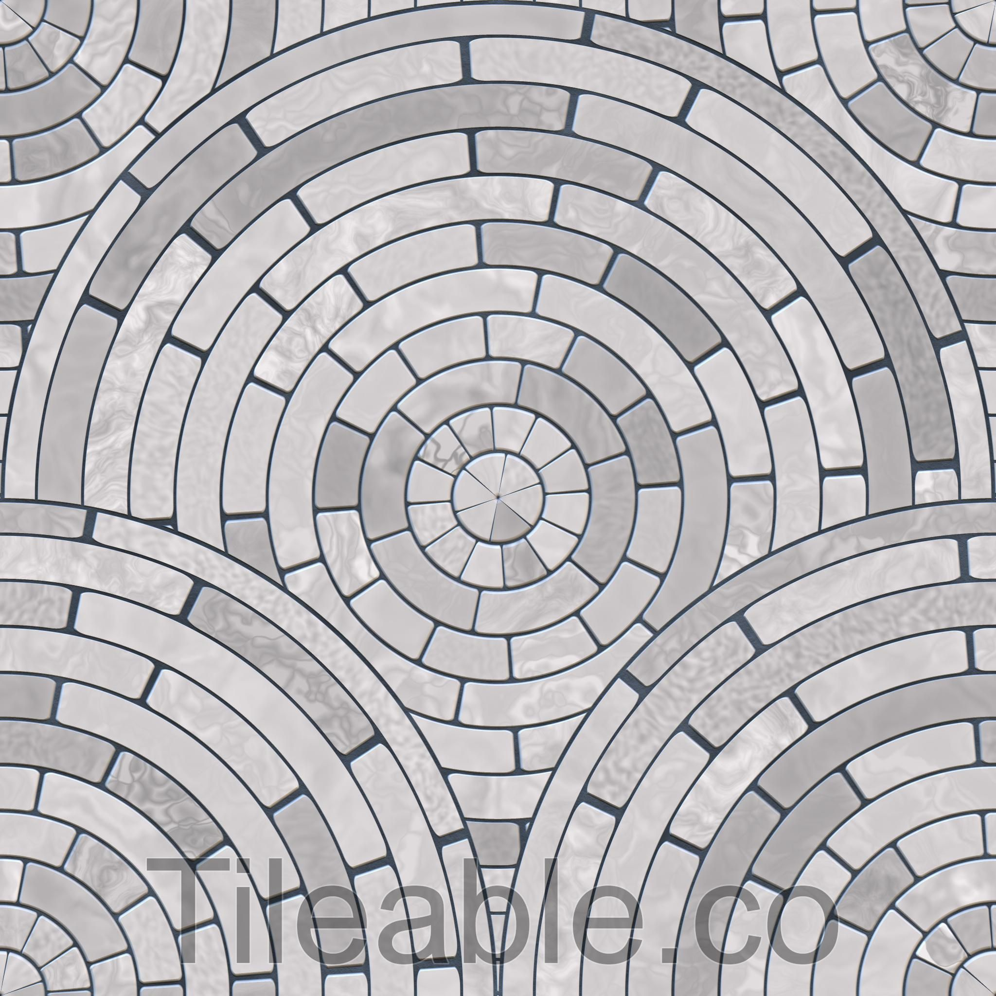 Circular Floor Tiles Design 5 Awsome Texture With All 3d
