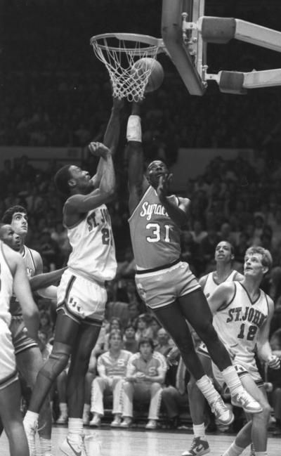 Syracuse Basketball Star Dwayne Pearl Washington Has