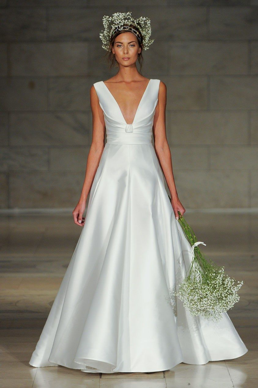 Reem acra bridal fall fashion show in beautiful things