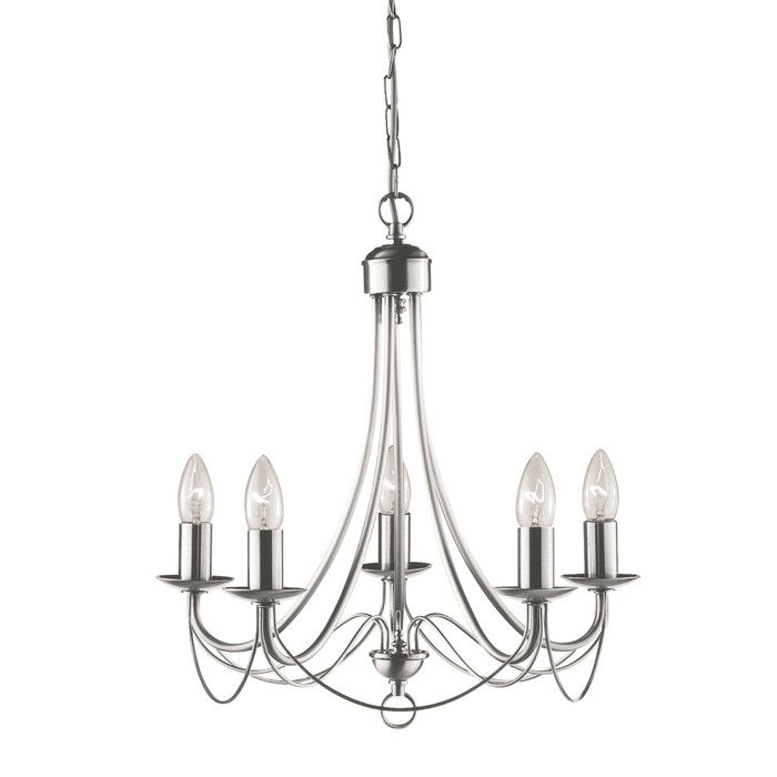 Maypole 5 Light Candle Style Chandelier Lighting Ceiling