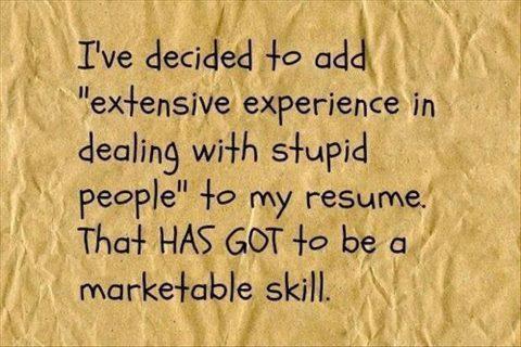 Resume tip 101!