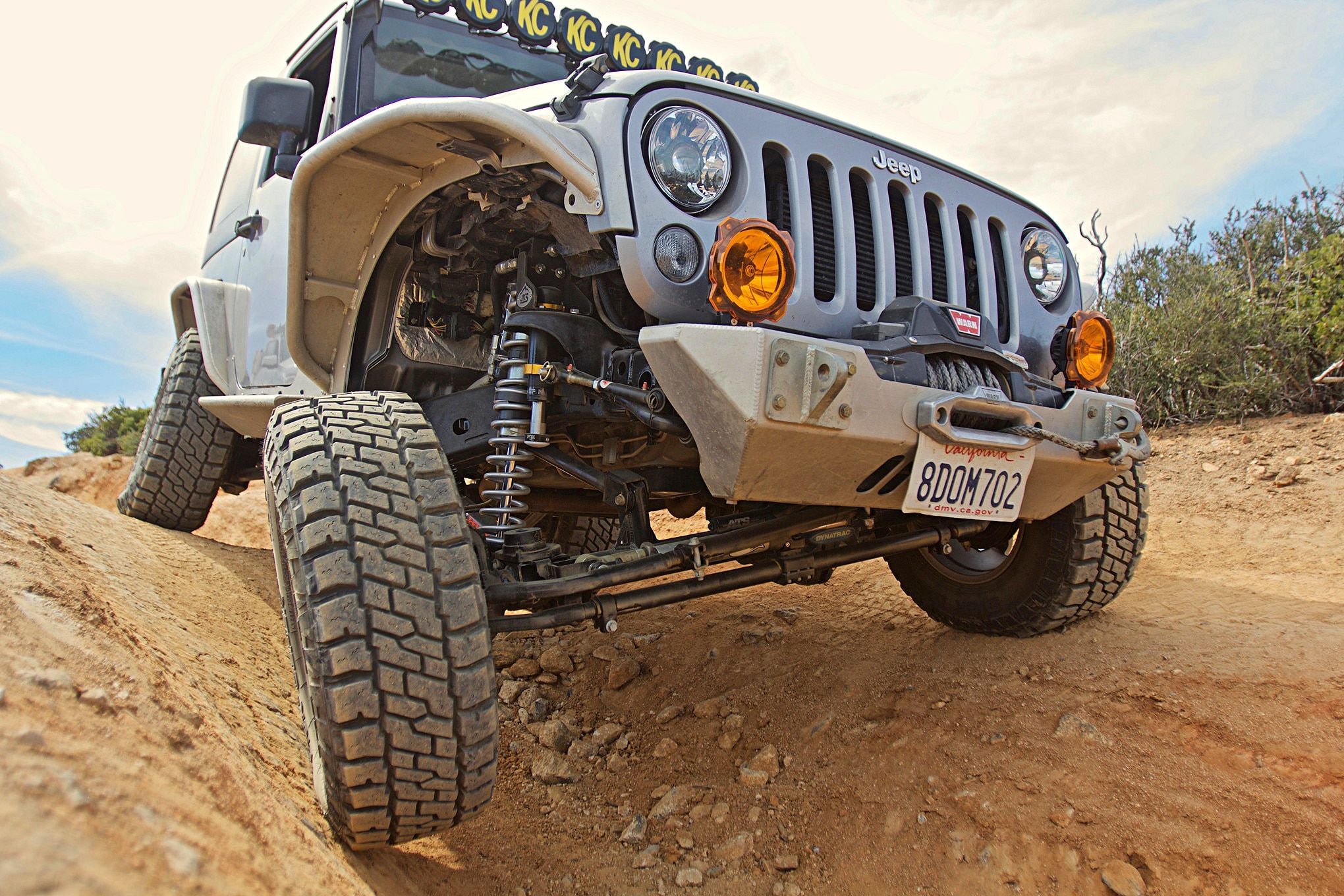 Frankenbrute Is A Monster Of A 2006 Jeep Wrangler Tj 2006 Jeep