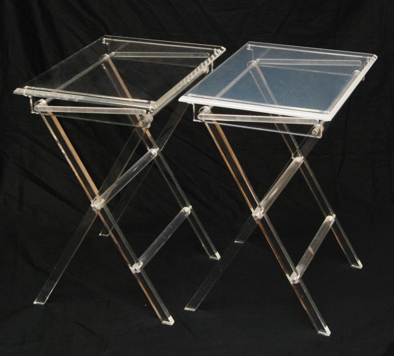 Folding Tray Tables