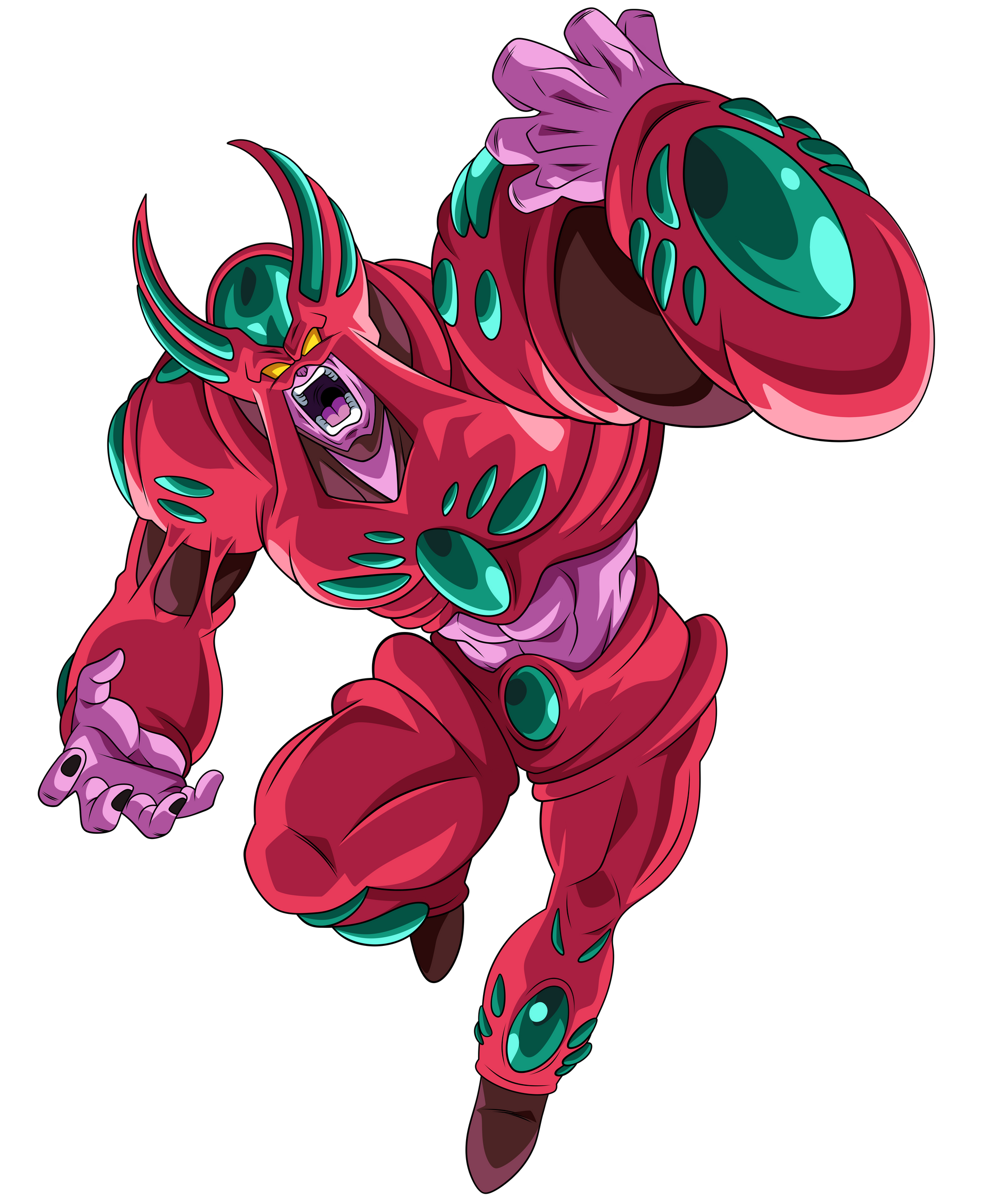 Hatchiyack Evolucionado Render 1 By Ssjrose890 On Deviantart Dragon Ball Image Dragon Ball Artwork Dragon Ball Art