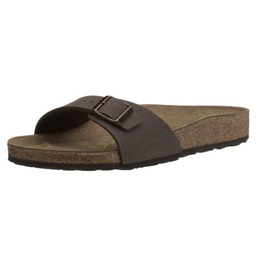 Birkenstock Damen Sandale Madrid BF Mocca 44 Sandalen für