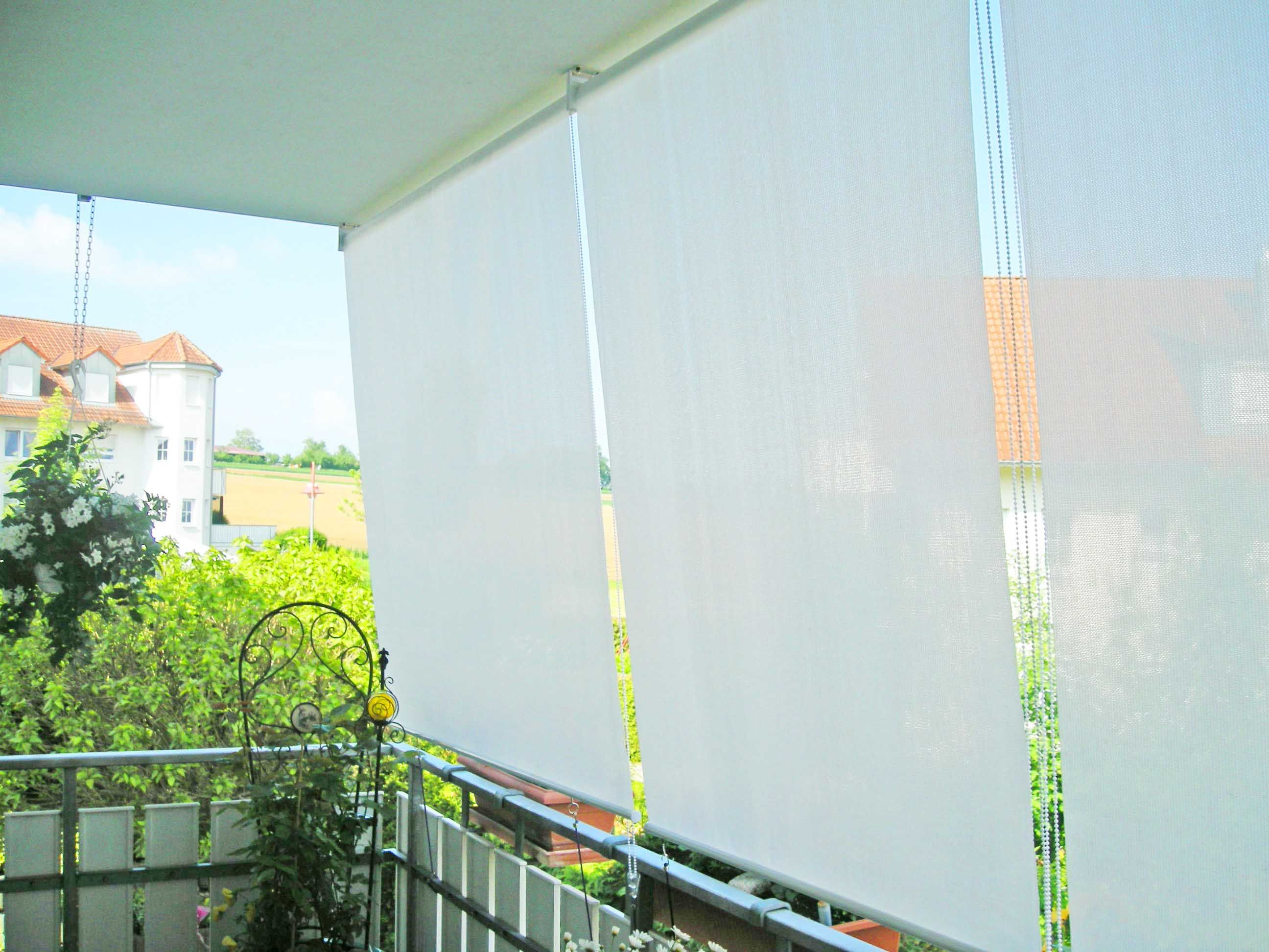 Balkon Sonnenschutz Rollo Sonnenschutz Rollo Aussenrollo