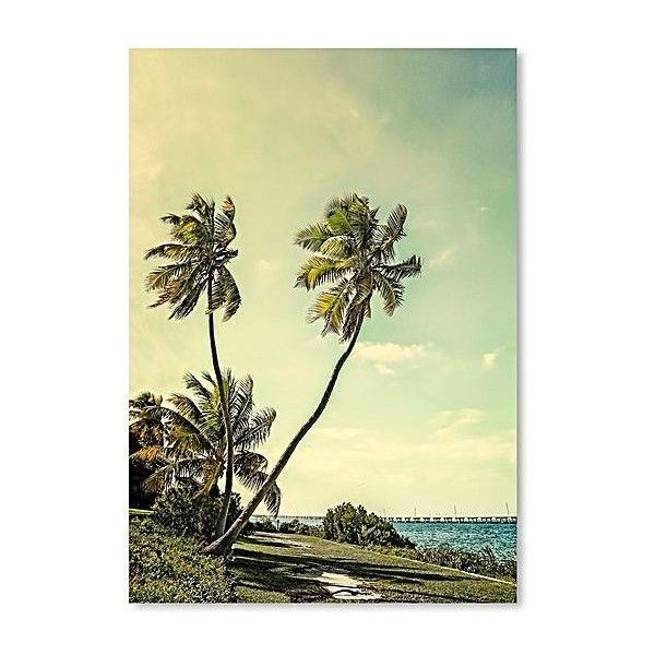Tropical Heaven Print Art ($30) ❤ liked on Polyvore featuring home ...