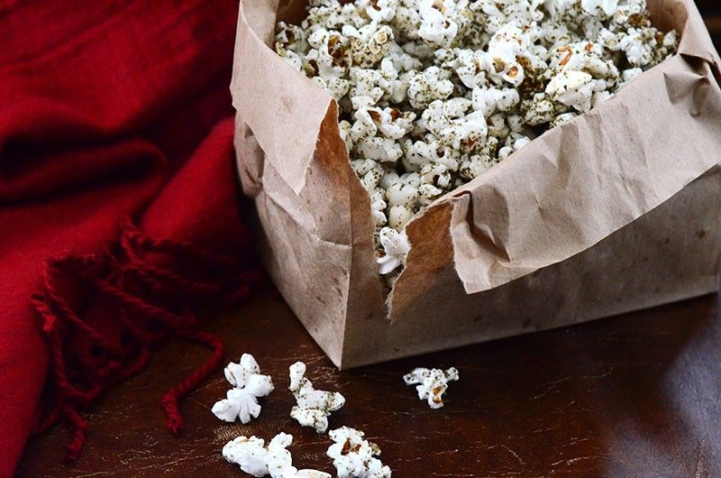 Zaatar Popcorn Maureen Abood Dishes I Want To Make Pinterest
