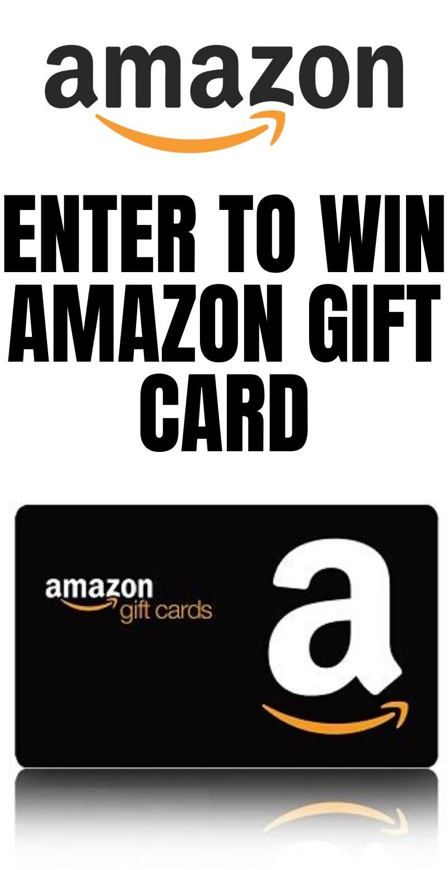 Amazon gift card enter to win amazon gift card take a