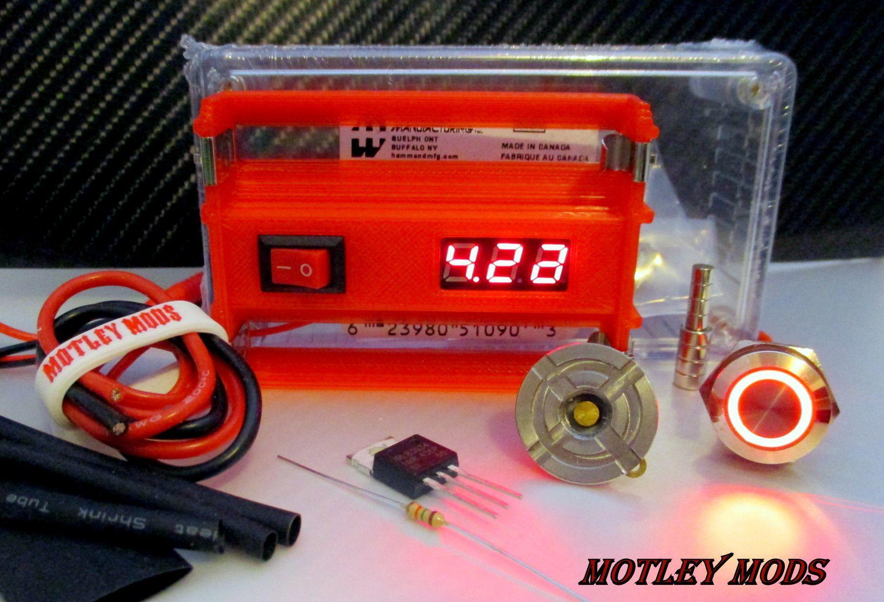 Terrific Box Mod Kit 1591B Volt Switch Products Box Kit Buttons Wiring 101 Ferenstreekradiomeanderfmnl