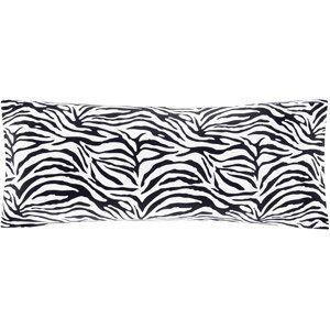Body Pillow Covers Walmart Soft Zebra Body Pillow Cover Pillowcase  Black  Home Décor