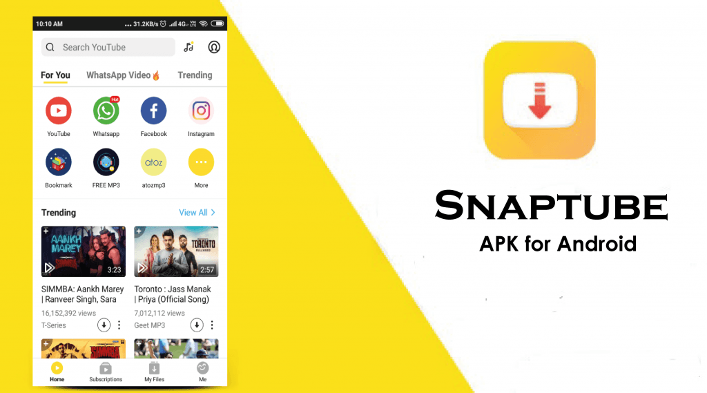 Image result for snaptube in hindi