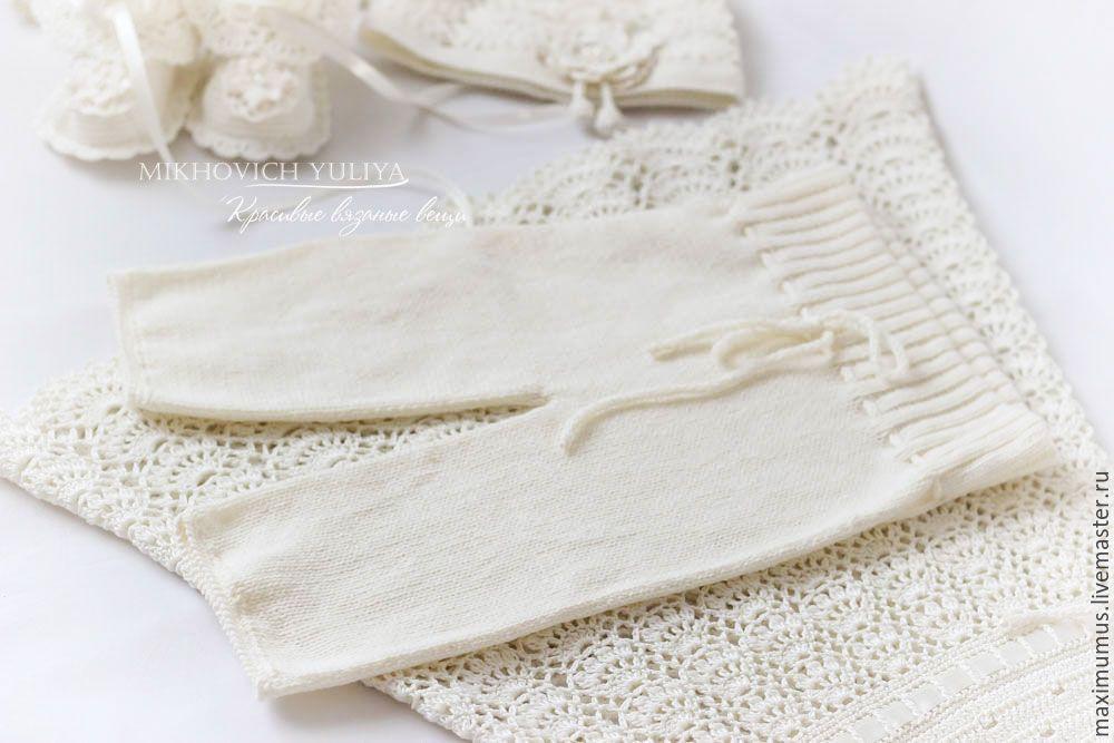 Купить Крестильный набор для девочки - золотой, крестильное, платье для крещения, крестильная рубашка, принадлженостикрестильные