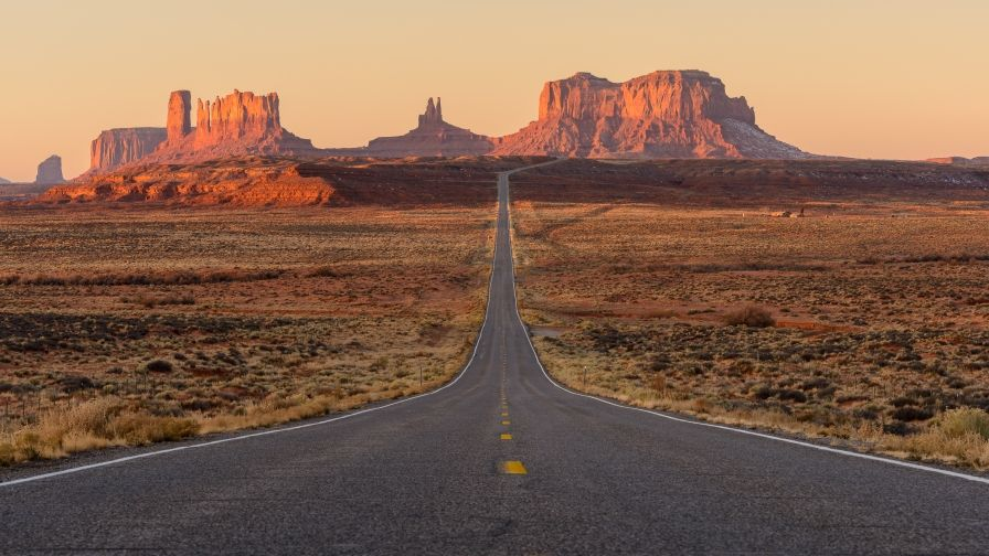 Monument Valley Road Free Download Hd Wallpapers