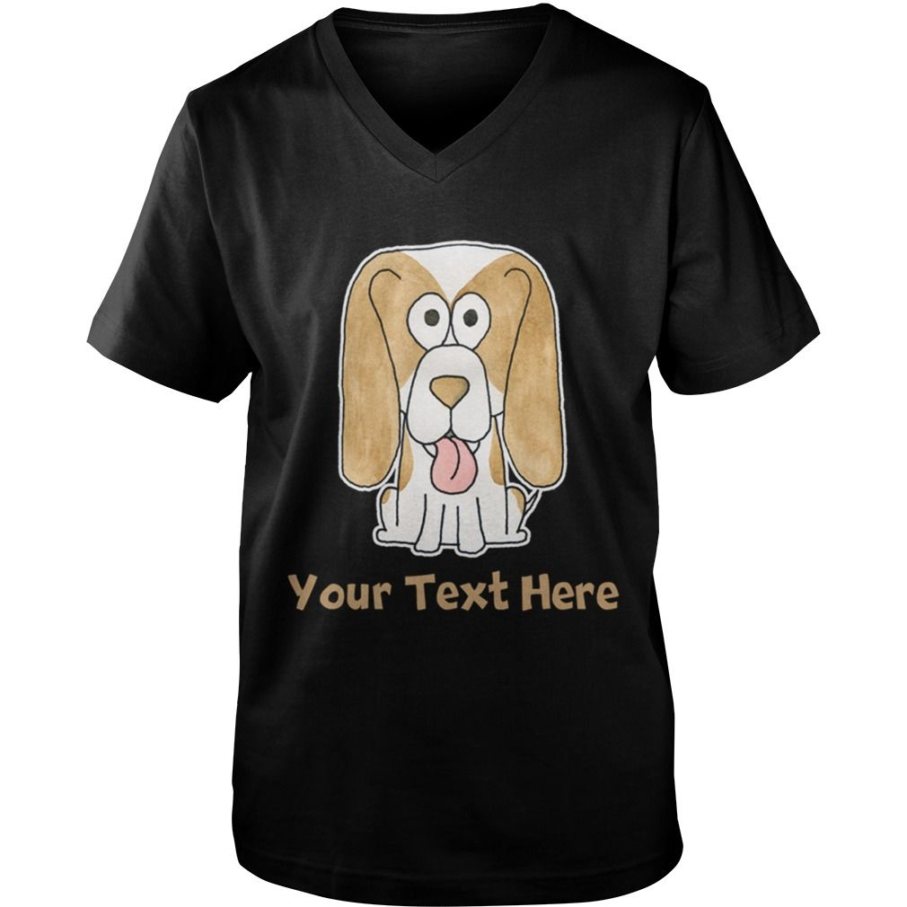 Beagle And Custom Text Grandpa Grandma Dad Mom Girl Boy Guy Lady
