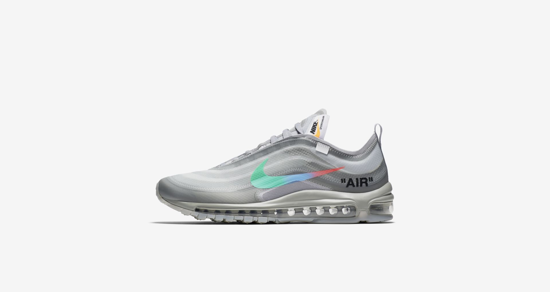 cd59944ca649 Off-White x Nike Air Max 97 – Wolf Grey